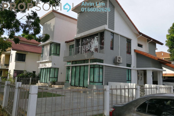 For Sale Bungalow at Glenmarie Cove, Port Klang Freehold Semi Furnished 6R/5B 2.6m