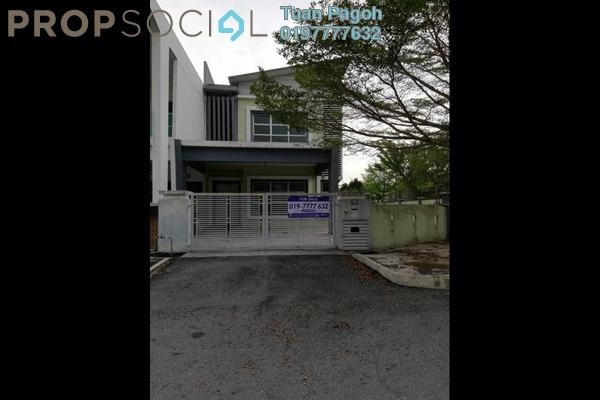 For Sale Semi-Detached at Bandar Warisan Puteri, Seremban Freehold Unfurnished 5R/5B 741k