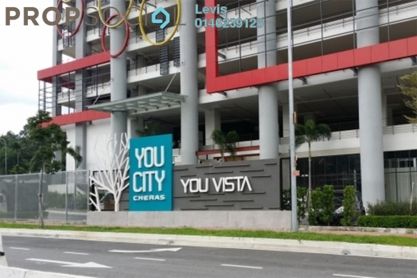 For Rent Condominium at You Vista @ You City, Batu 9 Cheras Freehold Semi Furnished 4R/2B 2.2k
