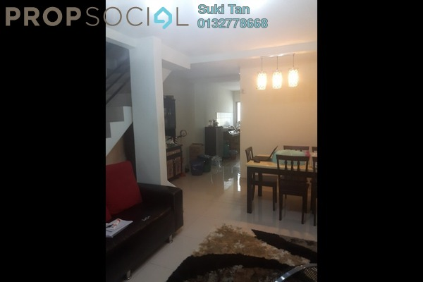 For Sale Terrace at Taman Selayang Utama, Selayang Freehold Semi Furnished 4R/2B 380k