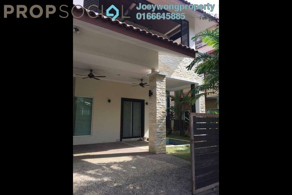 For Rent Semi-Detached at Beverly Heights, Ukay Freehold Semi Furnished 6R/7B 6k