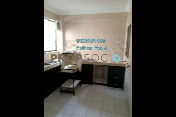 For Rent Apartment at Ixora Apartment, Kepong Freehold Semi Furnished 3R/2B 1k
