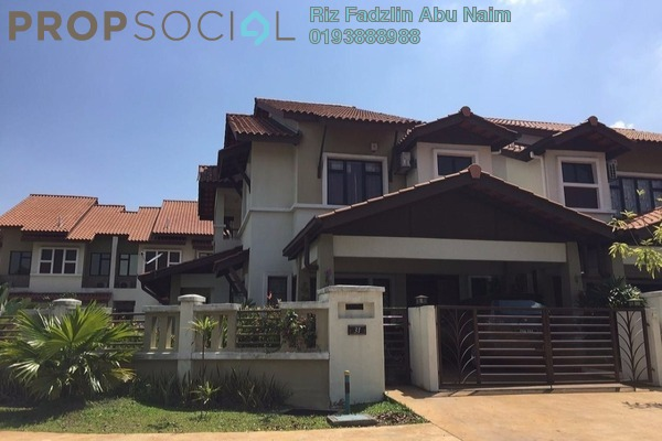 For Sale Terrace at Ukiran, Alam Impian Freehold Semi Furnished 5R/5B 1.19m