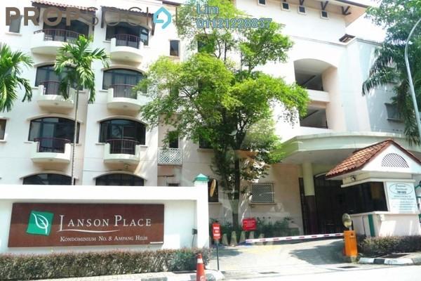 For Rent Condominium at Kondominium 8, Ampang Hilir Freehold Semi Furnished 2R/4B 3.7k
