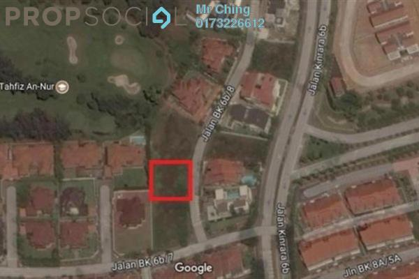 For Sale Land at BK6, Bandar Kinrara Freehold Unfurnished 0R/0B 1.95m