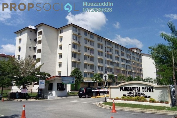 For Sale Apartment at Taman Topaz, Dengkil Freehold Unfurnished 3R/2B 170k