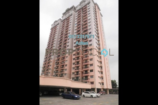 For Sale Condominium at Langat Jaya, Batu 9 Cheras Freehold Unfurnished 3R/2B 335k