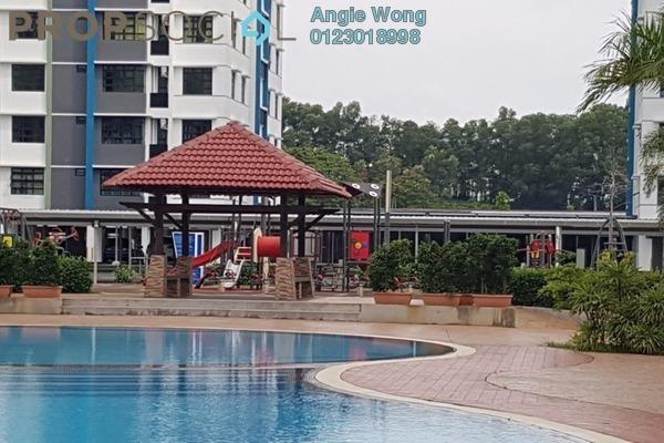 For Rent Condominium at De Centrum Unipark Condominium, Kajang Freehold Semi Furnished 4R/4B 1.9k