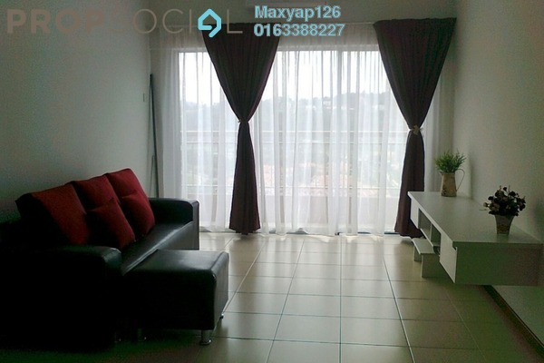 For Sale Condominium at Plaza Medan Putra, Bandar Menjalara Freehold Semi Furnished 3R/2B 498k