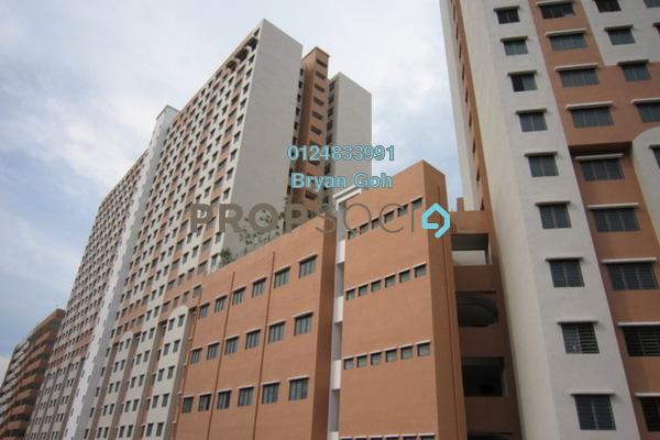 For Rent Apartment at Halaman Kenanga, Sungai Nibong Freehold Unfurnished 3R/1B 650translationmissing:en.pricing.unit