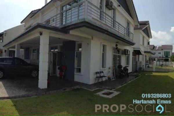 For Sale Semi-Detached at Royal Ivory 2, Bandar Saujana Putra Freehold Semi Furnished 4R/3B 690k