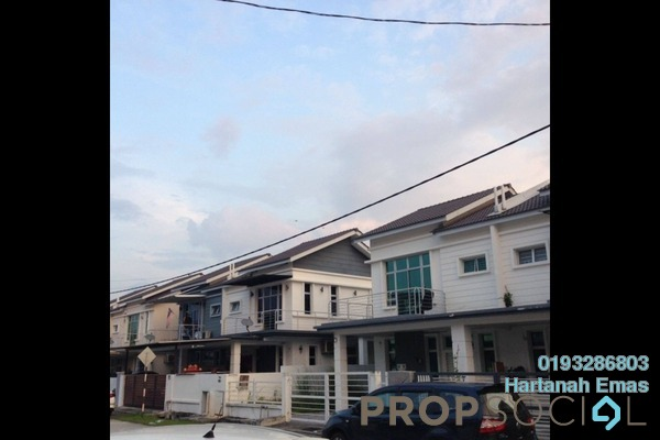 For Sale Semi-Detached at Ivory Residence, Bandar Saujana Putra Freehold Unfurnished 4R/3B 620k