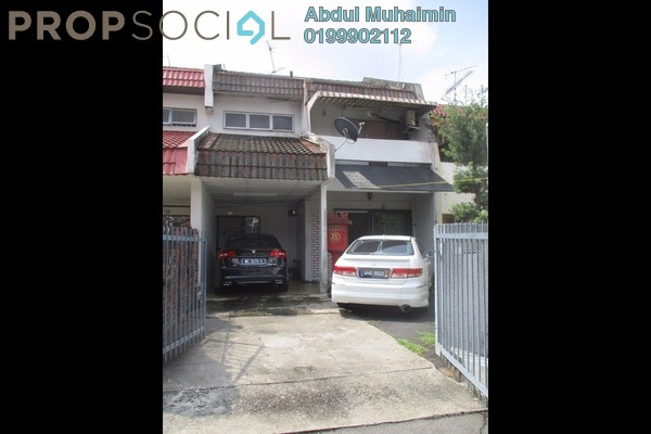 For Sale Terrace at Taman Dahlia, Cheras South Freehold Semi Furnished 4R/3B 700k