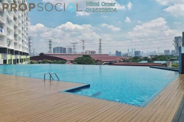 For Sale Condominium at Panorama Residences, Sentul Freehold Semi Furnished 3R/2B 510k