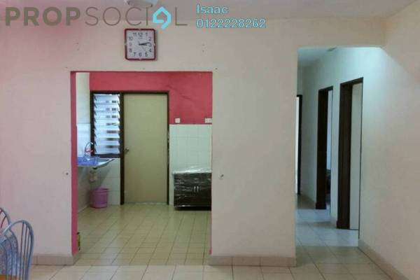 For Sale Apartment at Plaza Metro Prima, Kepong Freehold Semi Furnished 3R/2B 380k