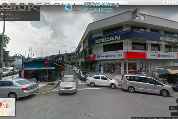 For Rent Shop at Taman Segar, Cheras Freehold Unfurnished 0R/0B 1.4k