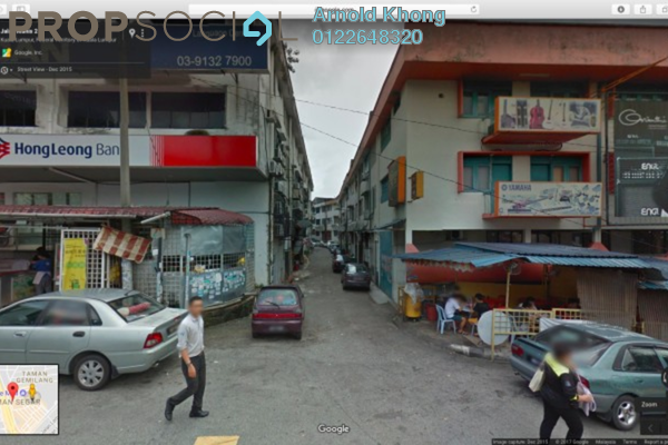 For Rent Shop at Taman Segar, Cheras Freehold Semi Furnished 0R/0B 700translationmissing:en.pricing.unit