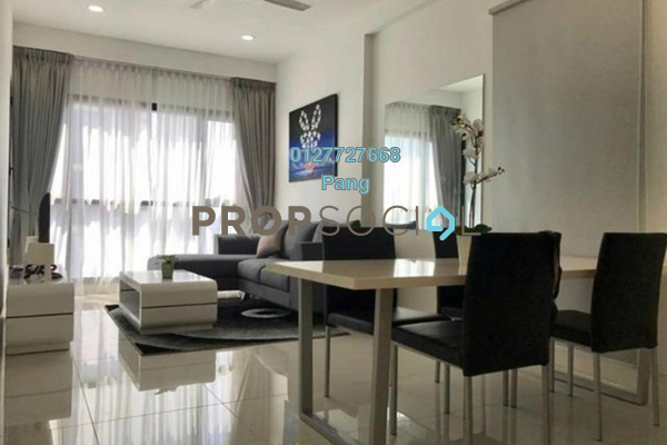 For Rent Condominium at BayBerry Serviced Residence @ Tropicana Gardens, Kota Damansara Freehold Fully Furnished 0R/1B 2.48k