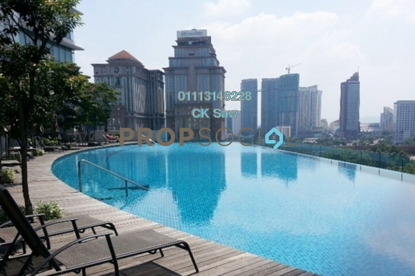 For Sale Condominium at Panorama, KLCC Freehold Fully Furnished 3R/3B 1.99m