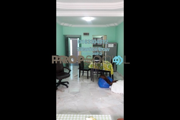 For Rent Apartment at Akasia Apartment, Pusat Bandar Puchong Freehold Fully Furnished 3R/2B 1.1k