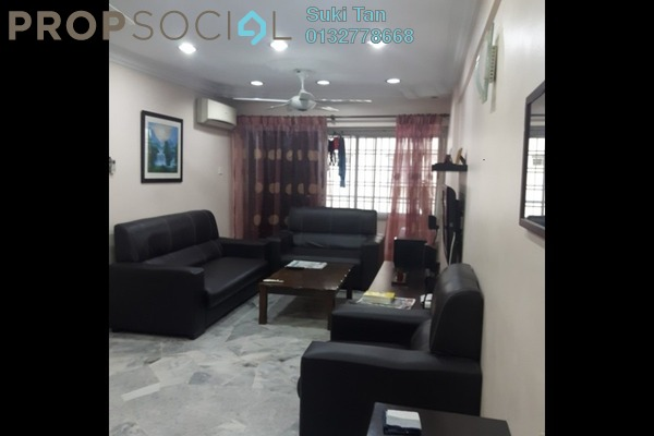 For Sale Apartment at Casa Magna, Kepong Freehold Semi Furnished 3R/2B 388k
