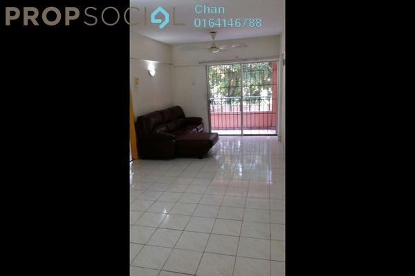 For Rent Apartment at Arena Green, Bukit Jalil Freehold Semi Furnished 2R/2B 1.3k