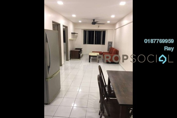 For Rent Apartment at Lestari Apartment, Bandar Sri Permaisuri Freehold Fully Furnished 3R/2B 1.35k