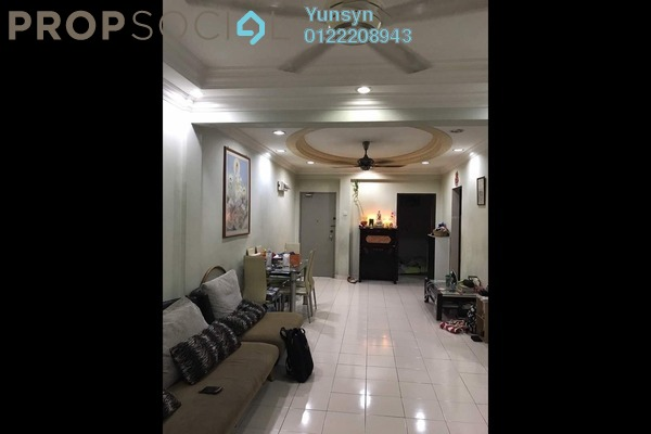 For Sale Apartment at Fortune Court, Kepong Freehold Fully Furnished 3R/2B 300k