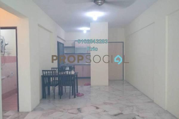 For Rent Condominium at Seri Pinang Apartment, Seri Kembangan Freehold Semi Furnished 3R/2B 1.1k