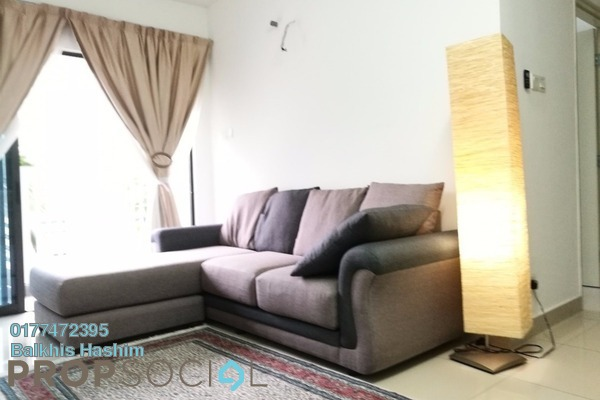 For Rent Condominium at Alam Sanjung, Shah Alam Freehold Semi Furnished 3R/2B 2k