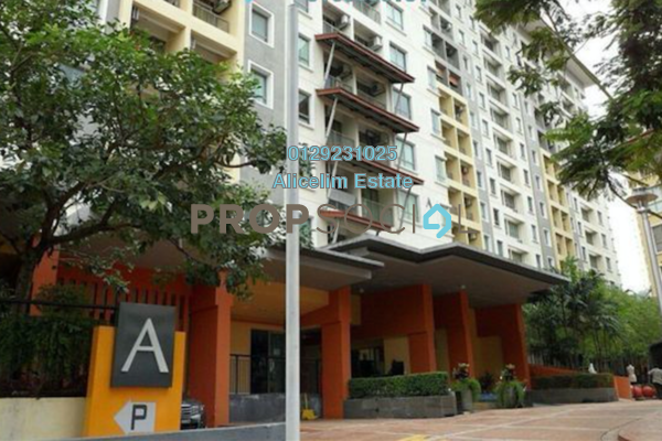 For Sale Serviced Residence at Ritze Perdana 1, Damansara Perdana Freehold Semi Furnished 0R/1B 255k