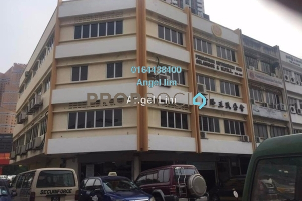 For Rent Shop at Kluang Parade, Kluang Freehold Semi Furnished 0R/0B 16k
