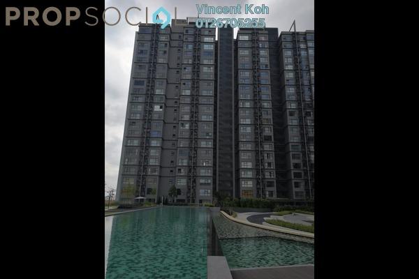 For Rent Condominium at Hyve, Cyberjaya Freehold Semi Furnished 1R/1B 1k