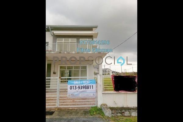 For Sale Semi-Detached at Indigo Homes, Bandar Saujana Putra Freehold Unfurnished 5R/3B 850k