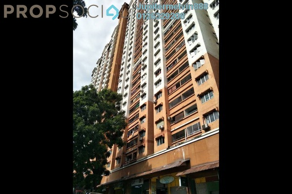 For Sale Apartment at Flora Damansara, Damansara Perdana Freehold Semi Furnished 3R/2B 195k