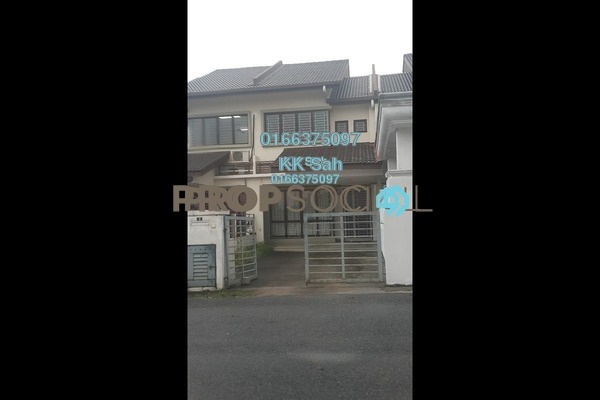 For Rent Terrace at Section 2, Bandar Mahkota Cheras Freehold Semi Furnished 4R/3B 1.2k