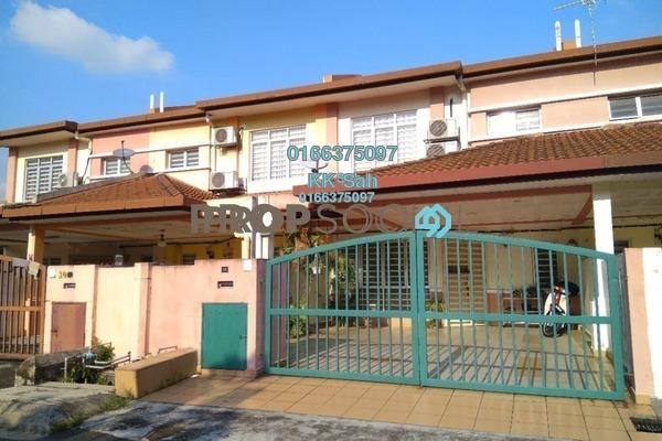 For Sale Terrace at Taman Pinggiran Mahkota, Bandar Mahkota Cheras Leasehold Semi Furnished 4R/3B 508k