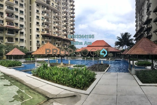 For Sale Condominium at Puri Aiyu, Shah Alam Freehold Semi Furnished 4R/3B 690k