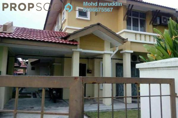 For Sale Semi-Detached at Bandar Puncak Alam, Kuala Selangor Leasehold Semi Furnished 4R/3B 480k