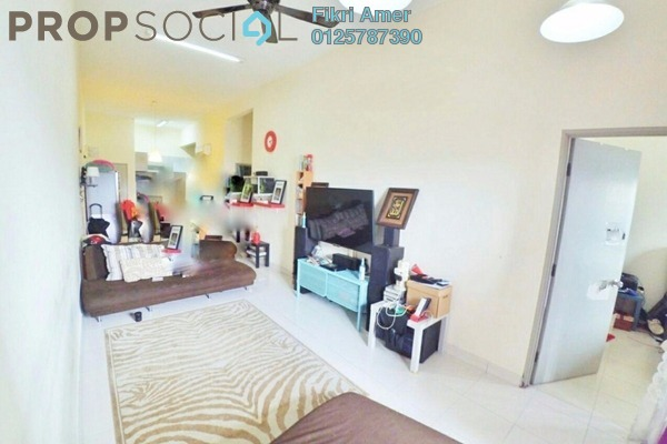 For Sale Condominium at Symphony Heights, Selayang Freehold Semi Furnished 3R/2B 340k