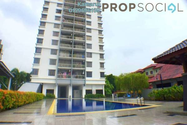 For Sale Condominium at Villa Laman Tasik, Bandar Sri Permaisuri Freehold Fully Furnished 4R/3B 570k