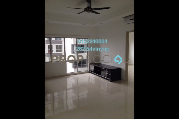 For Rent Serviced Residence at I Residence, Kota Damansara Freehold Semi Furnished 3R/2B 2k