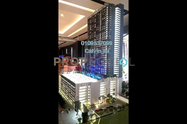 For Sale Condominium at The Holmes 2, Bandar Tun Razak Freehold Unfurnished 3R/3B 368k