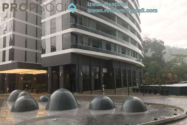 For Sale Condominium at The Veo, Melawati Freehold Semi Furnished 3R/2B 1.2m