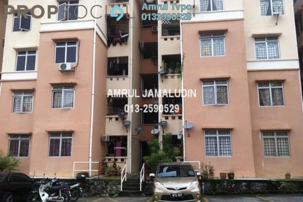 For Rent Apartment at Sri Puteri Apartment, Ukay Freehold Semi Furnished 3R/2B 1.2k