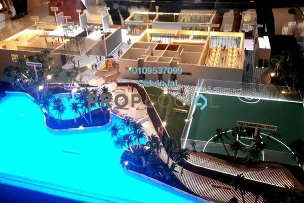 For Sale Condominium at Taman Lian Hoe, Kuchai Lama Leasehold Unfurnished 3R/2B 450k