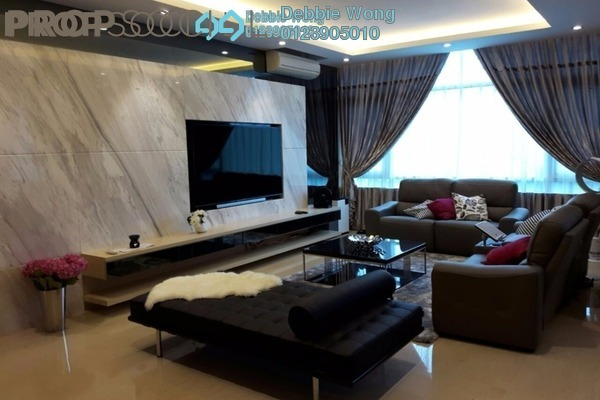 For Sale Duplex at Sunway Vivaldi, Mont Kiara Freehold Fully Furnished 5R/6B 3.9m