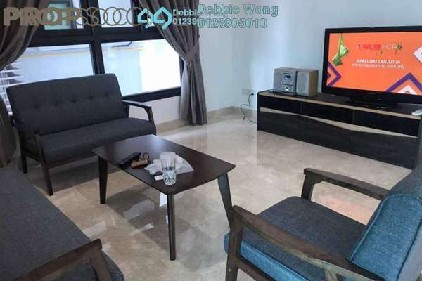 For Rent Condominium at Sastra U-Thant, Ampang Hilir Freehold Fully Furnished 3R/3B 8k