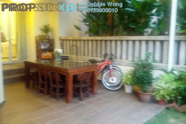 For Rent Terrace at Villa Aseana, Mont Kiara Freehold Semi Furnished 5R/5B 9k