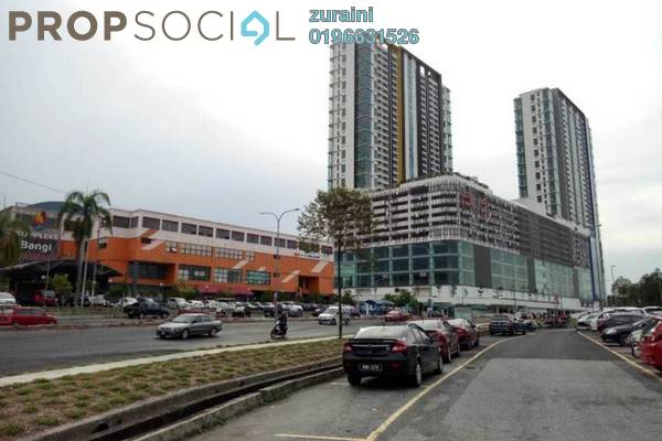 For Sale Condominium at EVO Soho Suites, Bandar Baru Bangi Freehold Fully Furnished 0R/1B 315k